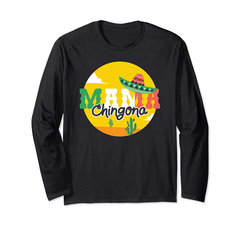 Mama Chingona Mexican Flag Graphic T Shirt