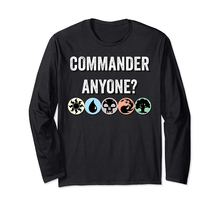 Mana Symbols Gathering Magic Commander Blue Red Green Shirts