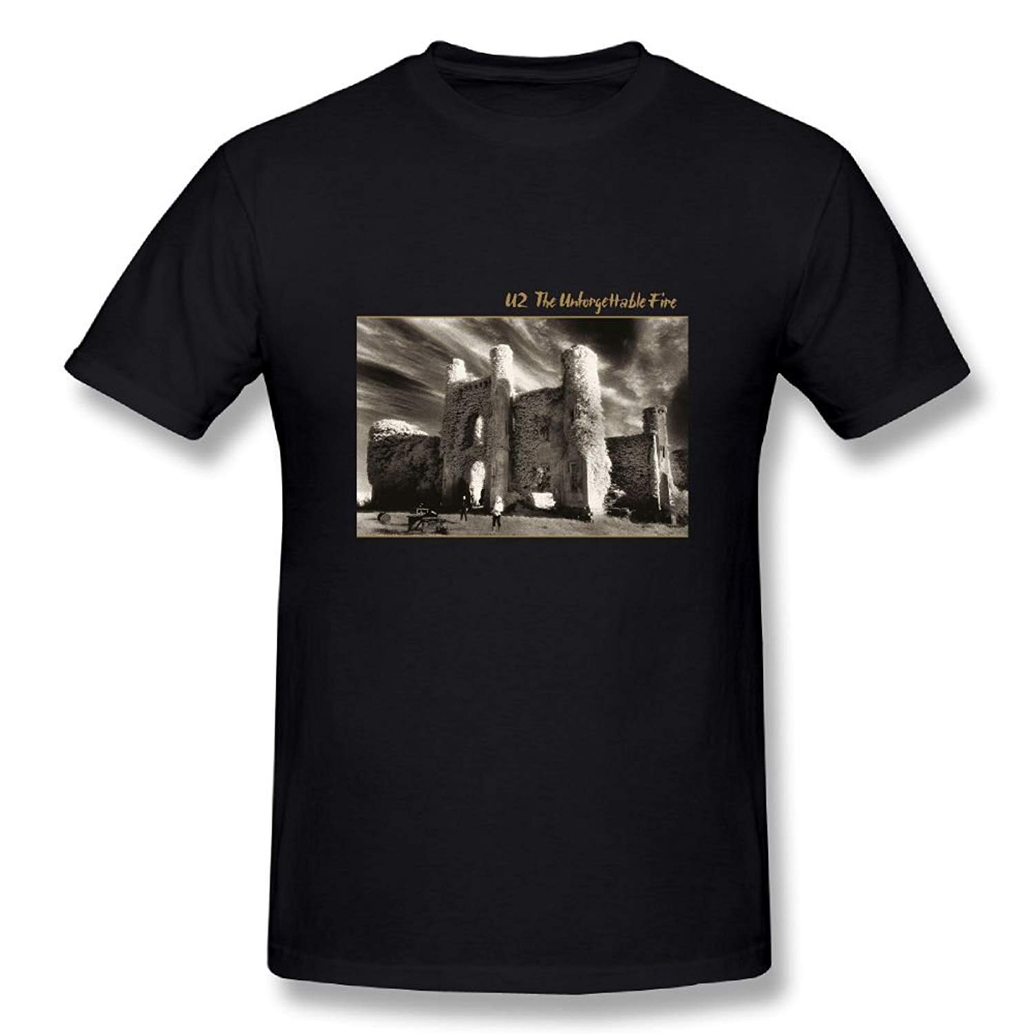 Marceljr U2 The Unforgettable Fire Classic Tees Shirts