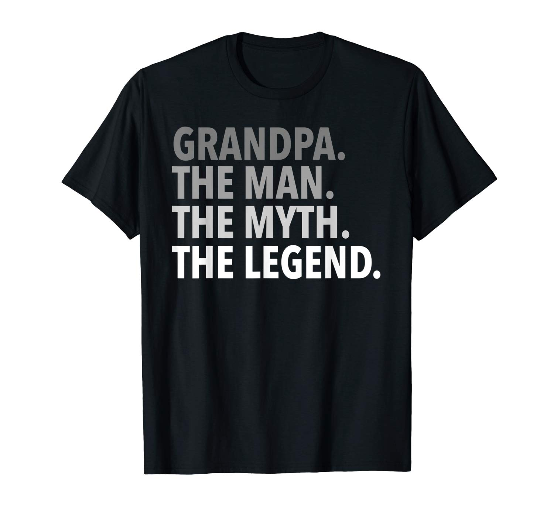 S Grandpa The Man The Myth The Legend T Shirt Dad Papa