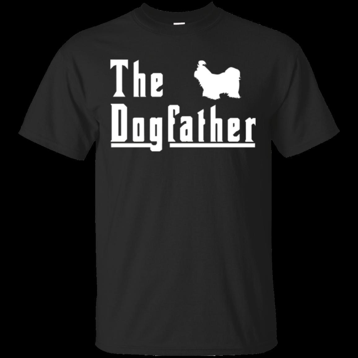 S S The Dogfather Shih Tzu Shirt Christmas Gift