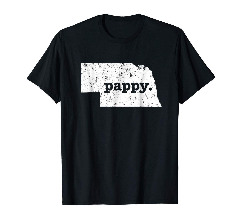 Pappy Nebraska Super Grandpa Shirts