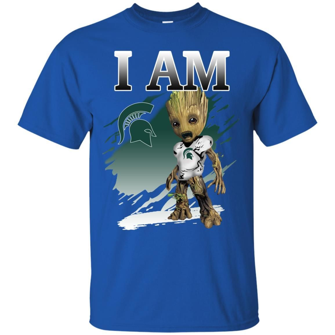 Michigan State Spartans Groot I Am S S Shirts