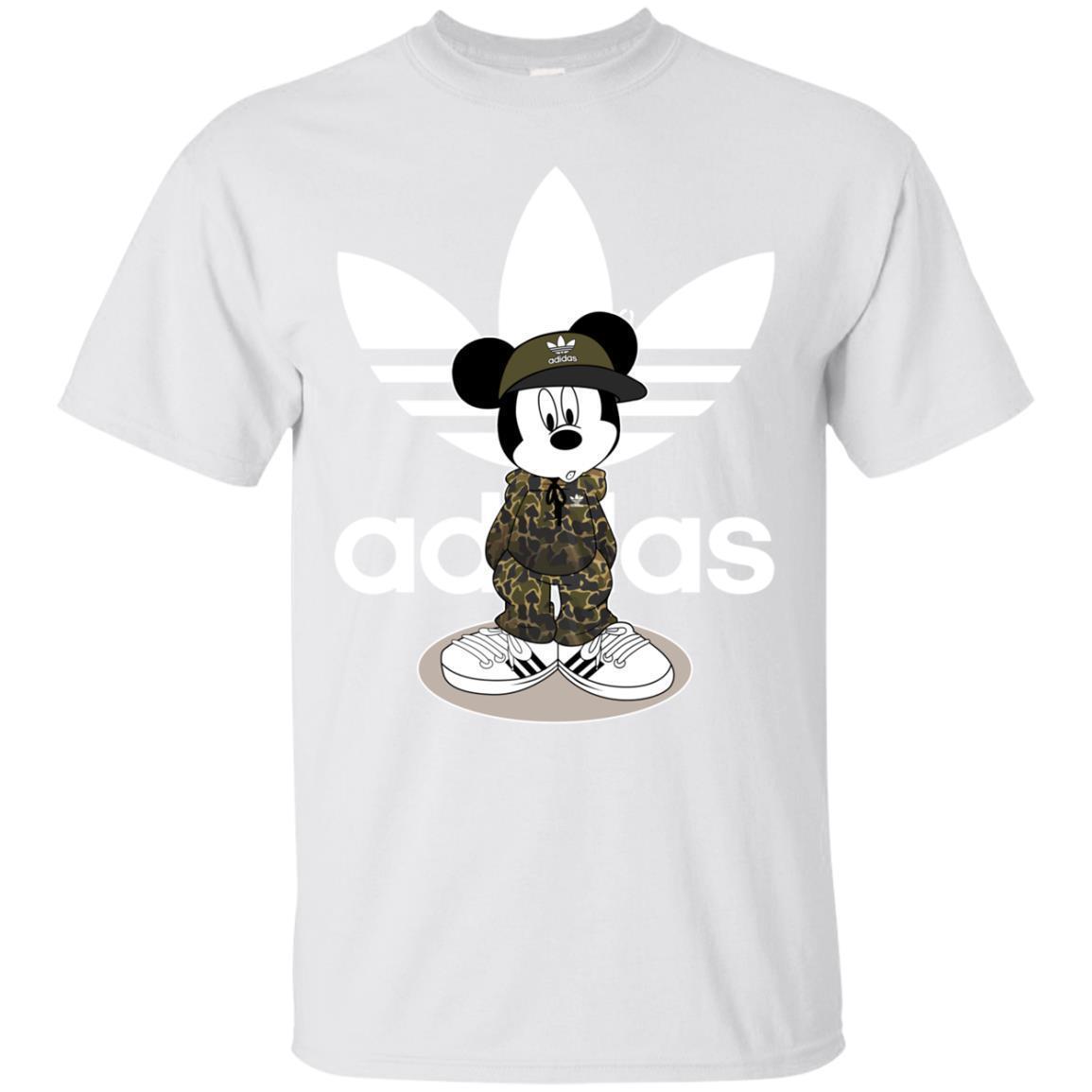 Mickey Mouse Logo Funny Shirts