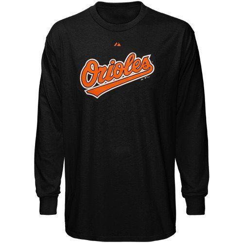 Baltimore Orioles Black Wordmark By 24 95 Maj Shirts