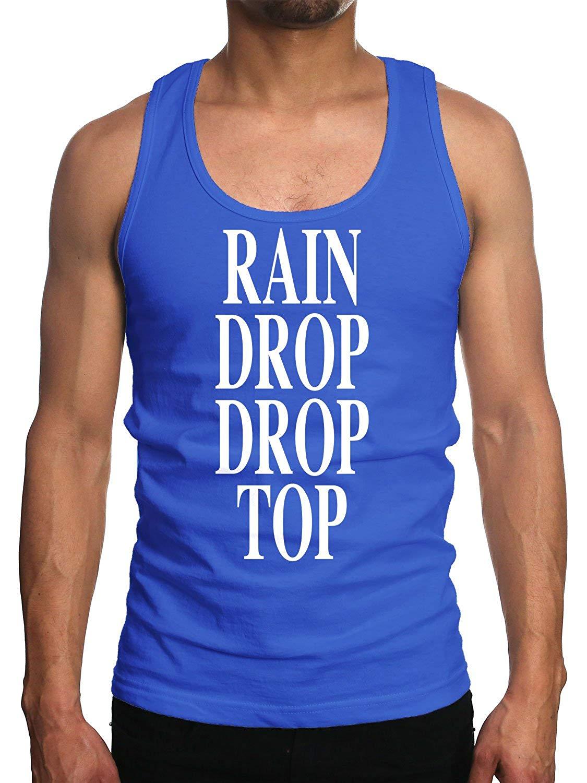 Motto Rain Drop Drop Top Tank Top Shirts