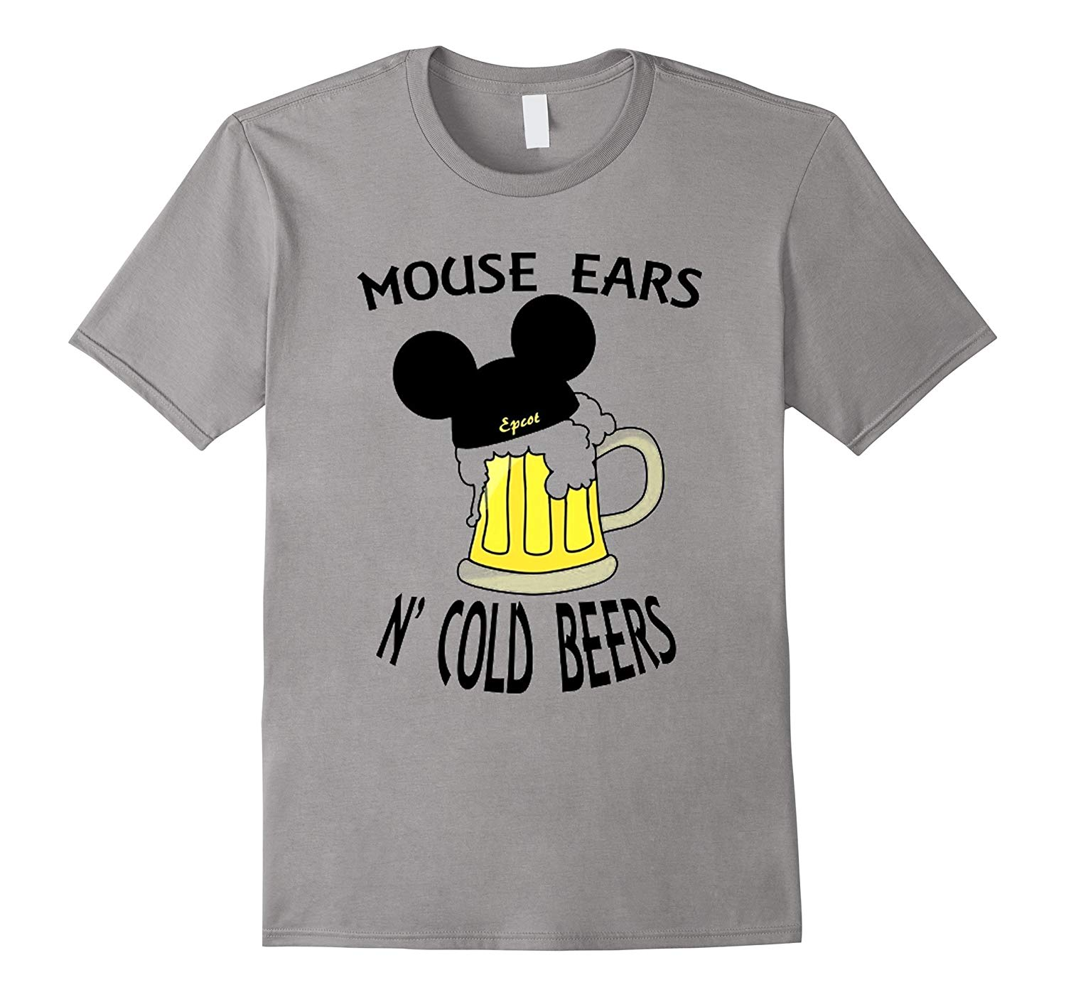 Mouse Ears N Cold Beers T Shirt