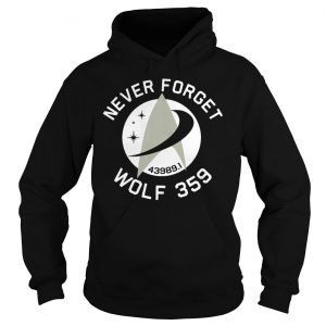 Never Forget 43989 Wolf 359 Shirts