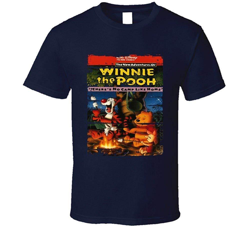 New Adventures Winnie The Pooh Cartoon Worn Look Tv Series T Shirt