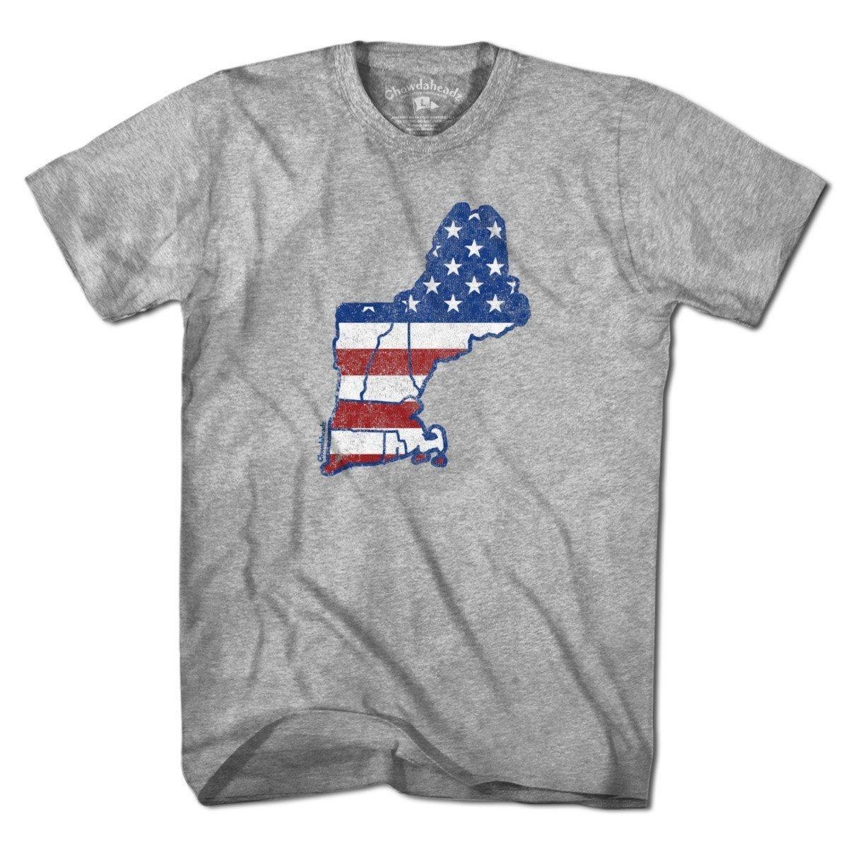 New England Usa T Shirt