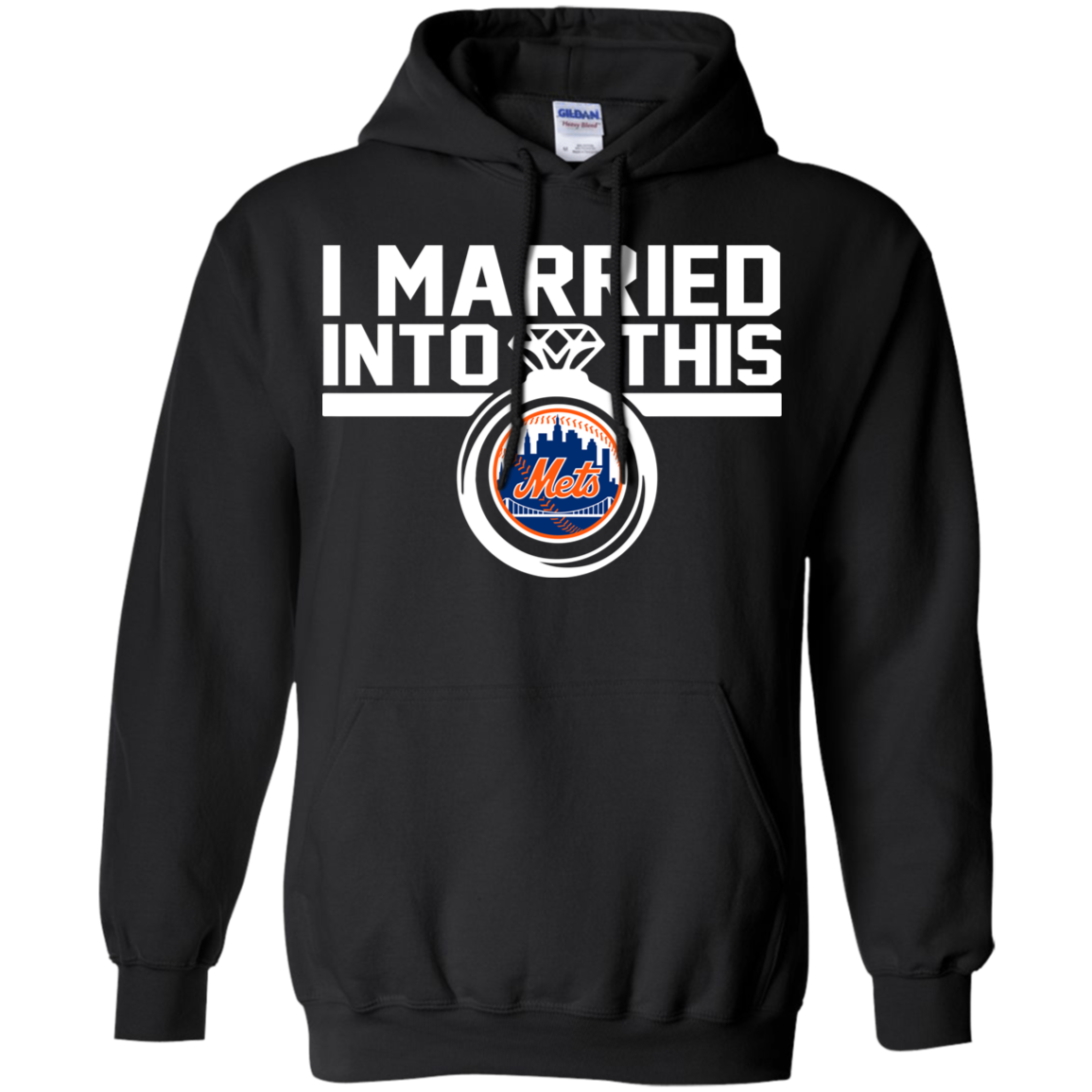 New York Mets I Married Into This Shirt