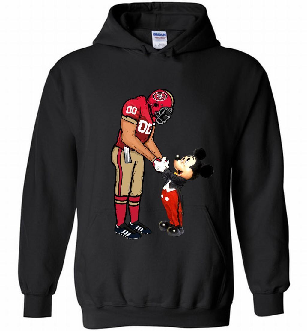 Nfl 49ers With Mickey Mouse Shirts