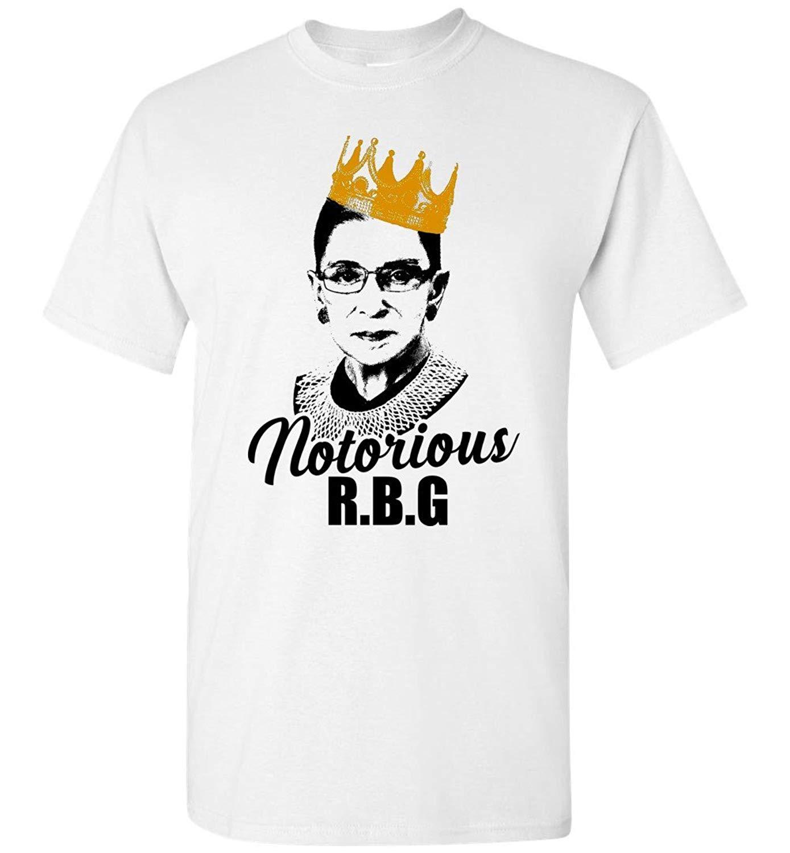 Nonnonstore Vintage Portrait Notorious Rbg Ruth Ginsburg Bader Yas Queen Tshirt