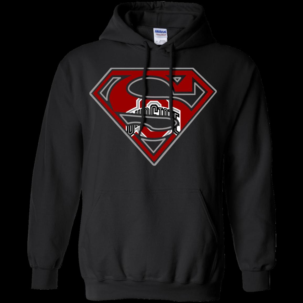 Ohio State Buckeyes Superman Shirt