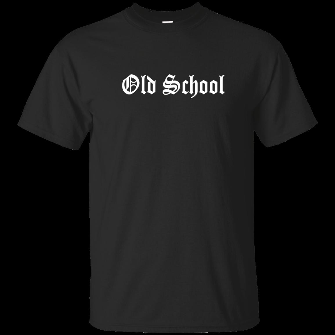 Old School Shirt Font