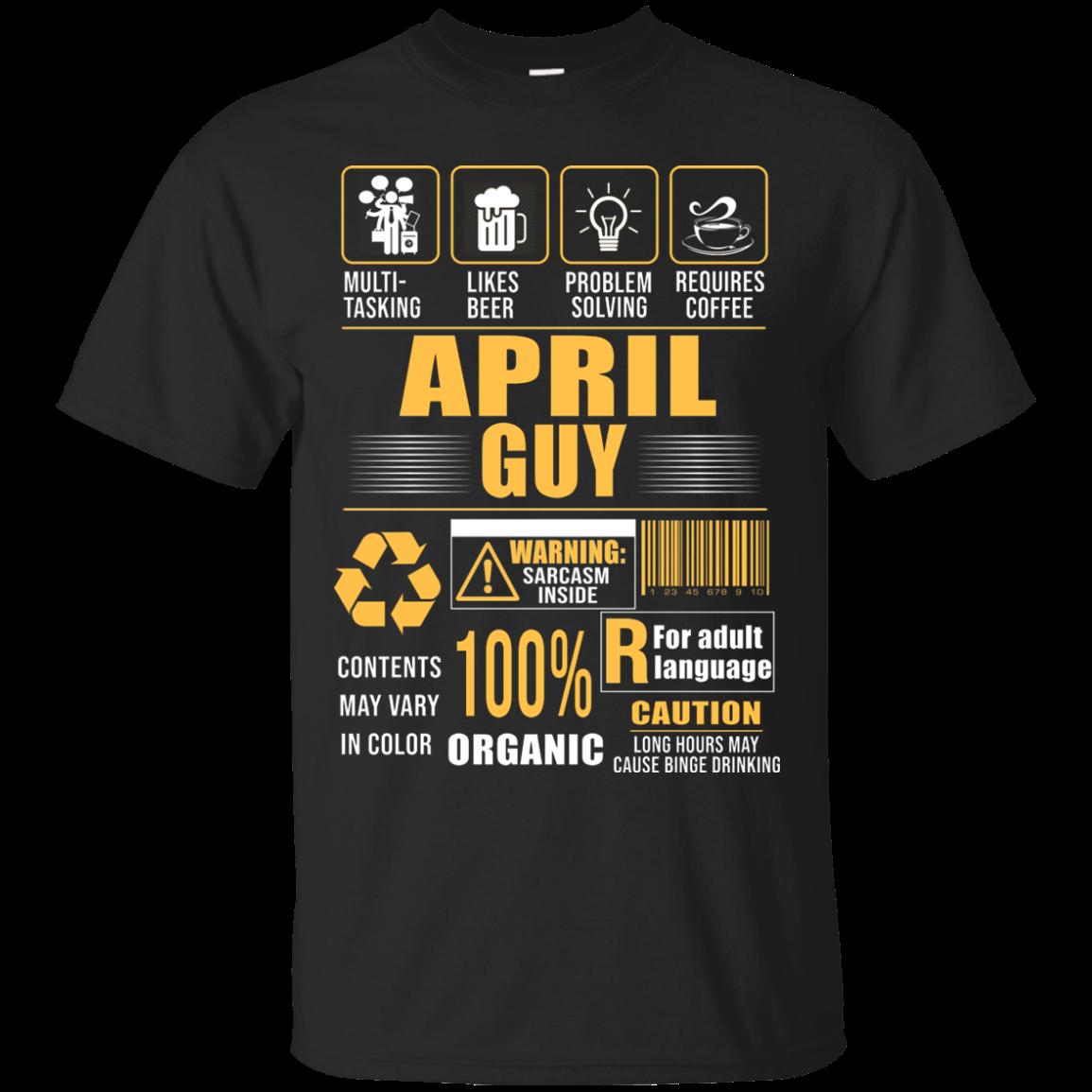 Order April Guy Multitasking Shirt