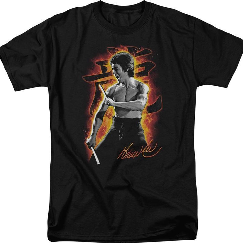 Order Autograph Bruce Lee T Shirt