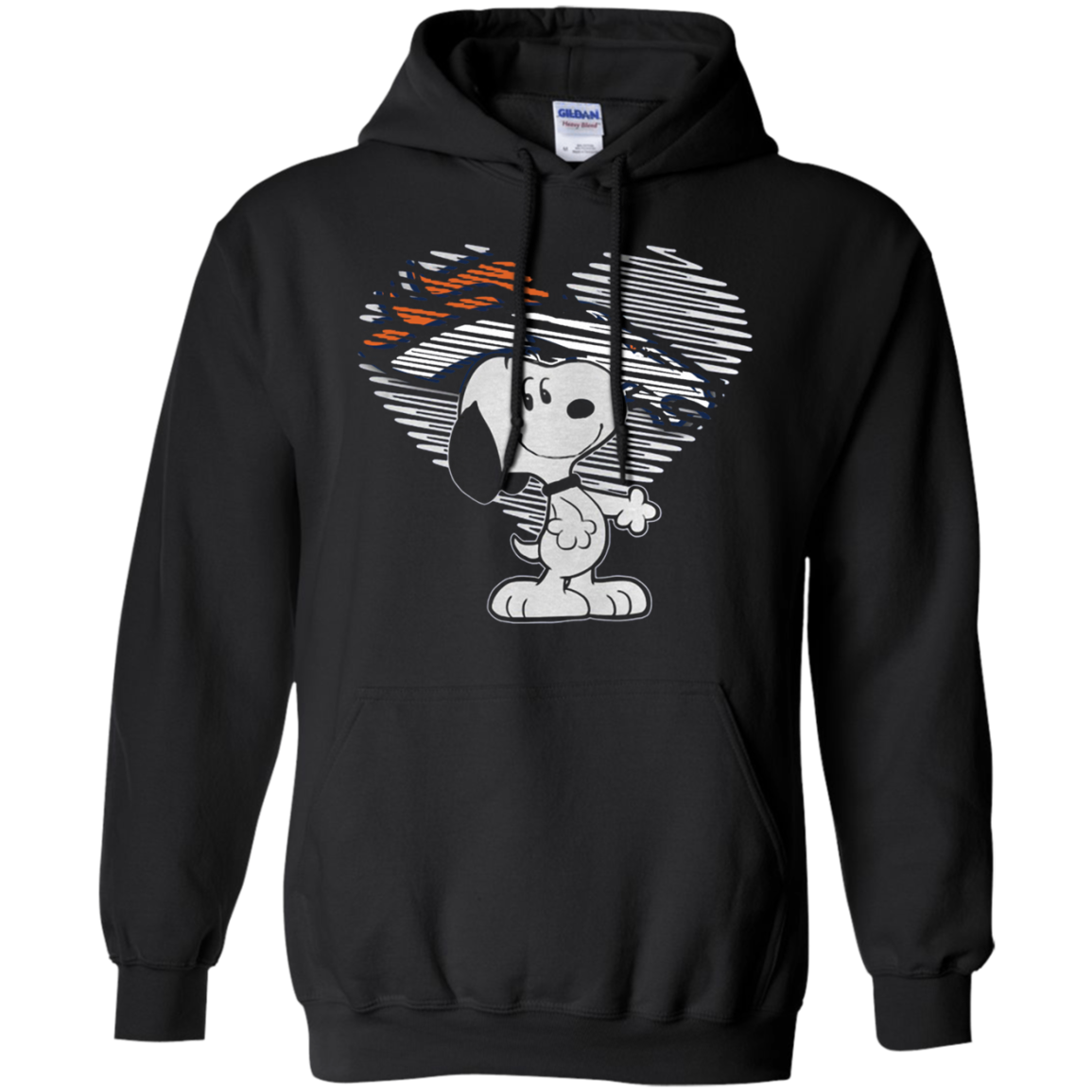 Order I Love Denver Broncos Snoopy In My Heart Nfl Tula Store Shirts