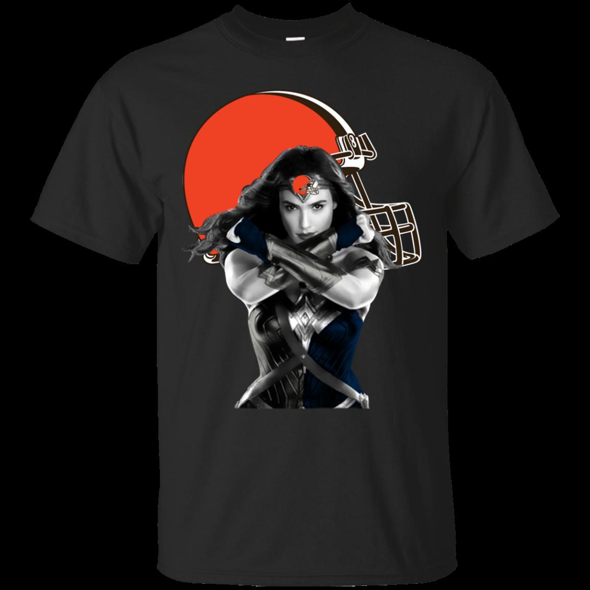 Order Wonder Woman Cleveland Browns T Shirt