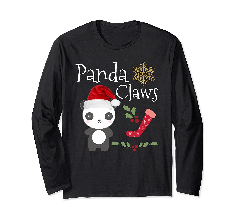Panda Claws Santa Xmas Christmas Ugly Secret Santa Shirts