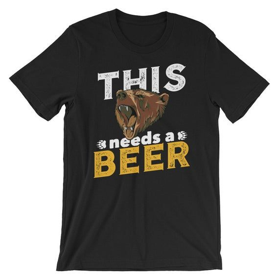Papa Bear T Shirt Beer Drinker Gift Beer Gift For Guys Dad Husband Father Boyfriend