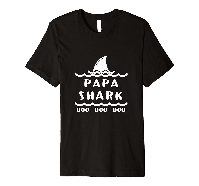 Papa Shark Doo Doo Doo Premium T Shirt