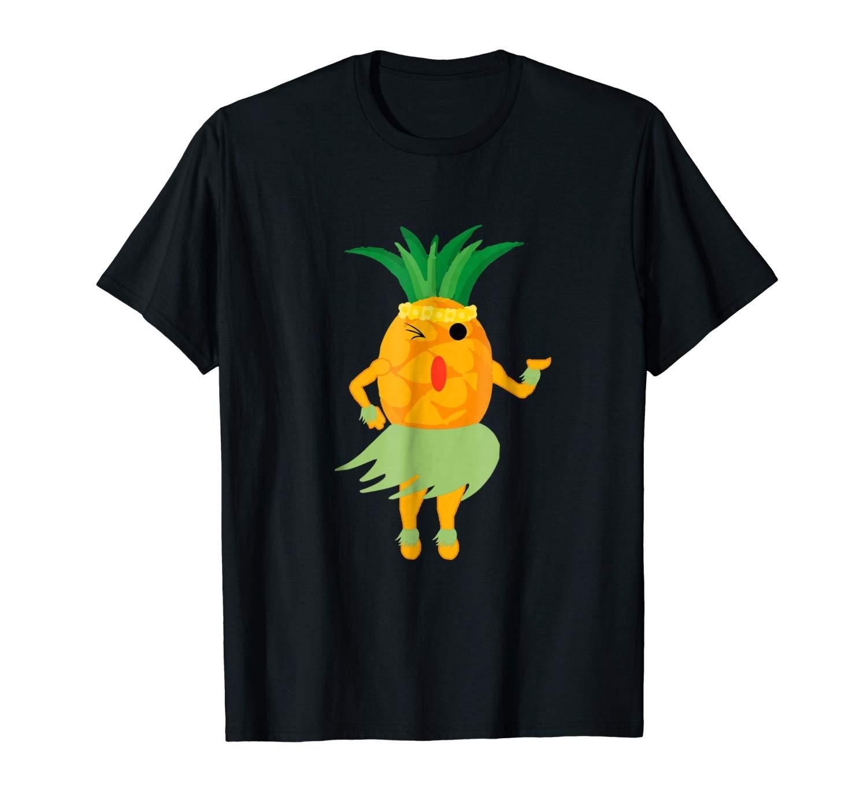 Pineapple Luau Shirt Funny Halloween Shirt