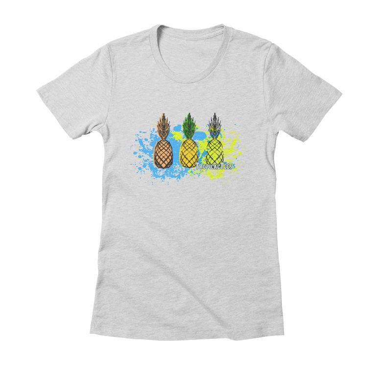 Pineapple Splatter S By Tropicals Shirts