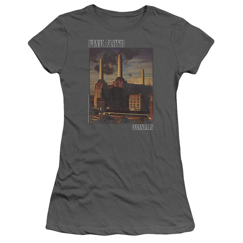 Pink Floyd Animals Album Cover Sheer Cap Sleeve T Shirt