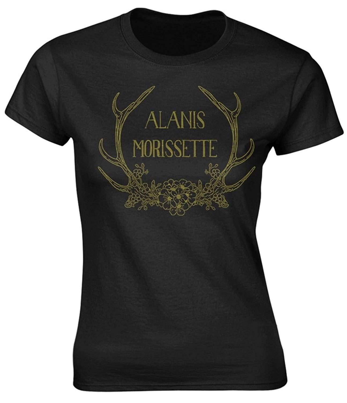 Plastic Head Alanis Morissette Antlers Ted T Shirt