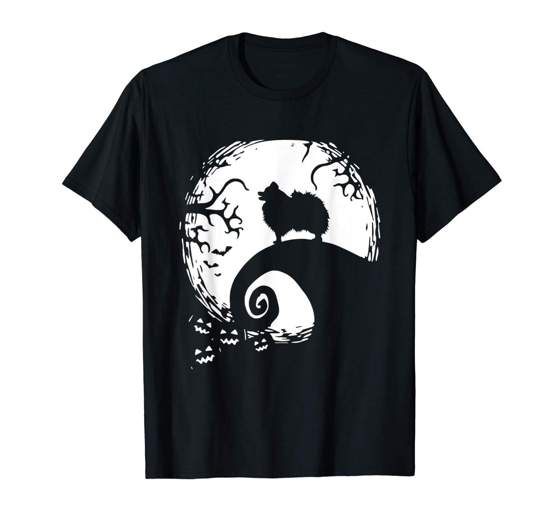 Pomeranian Gift Halloween T Shirt