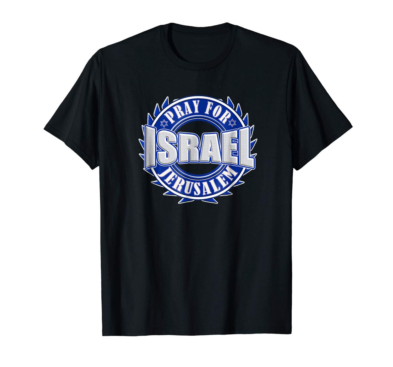 Pray For Peace Jerusalem Israel Christian Religious T Shirt