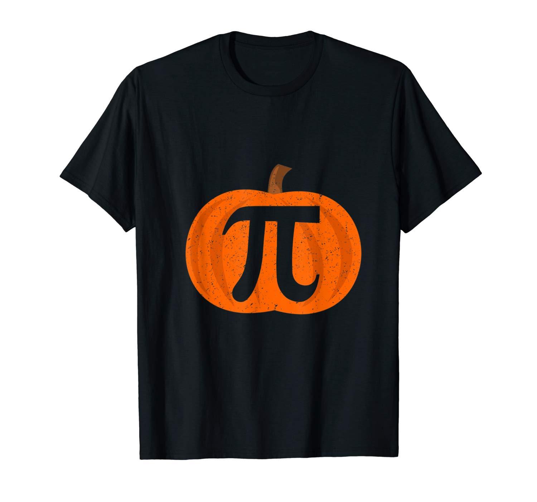 Pumpkin Pi Halloween Math Tea T Shirt Gifts For T Shirt