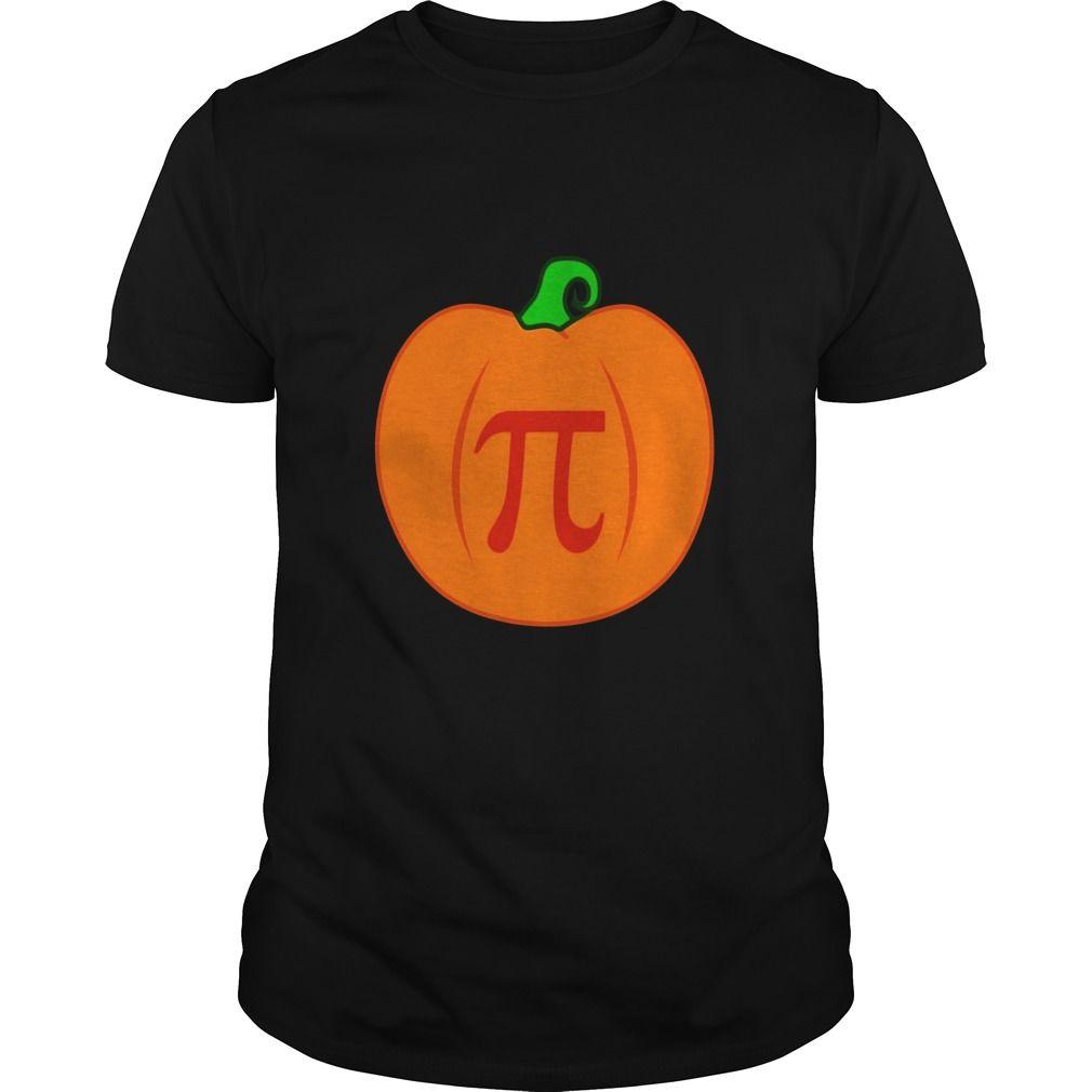 Pumpkin Pi Pun Hilarious Halloween Pumpkin Pie Shirts