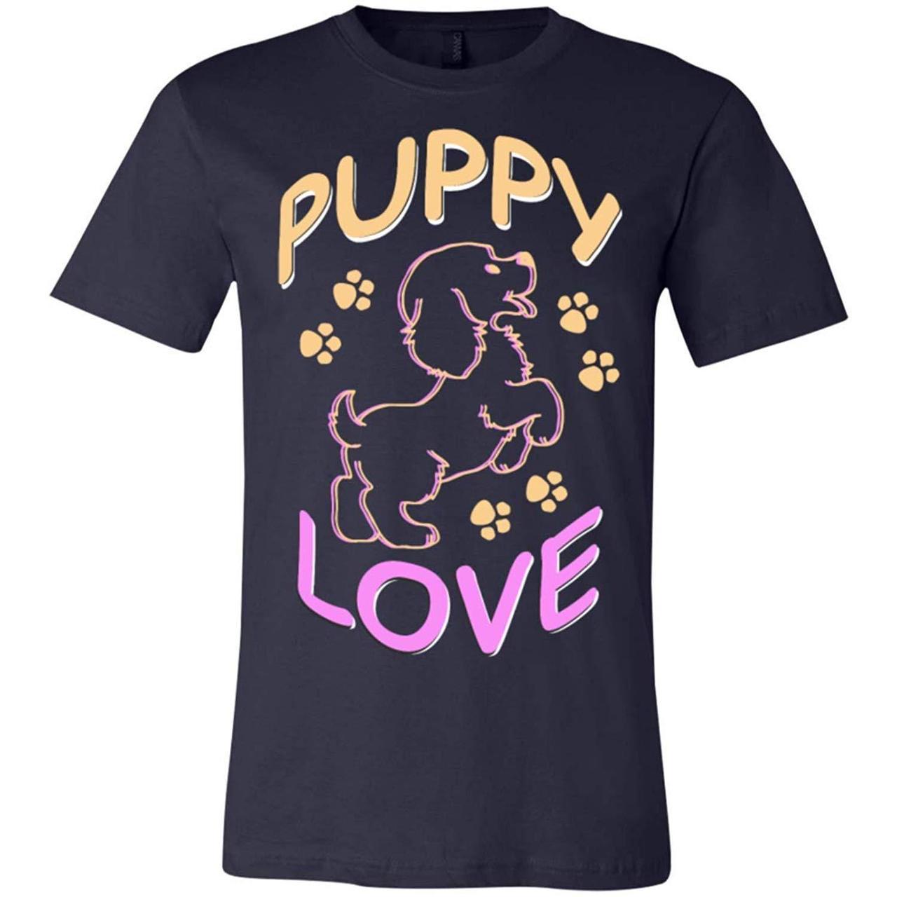 Puppylove Funny Pug Tshirt