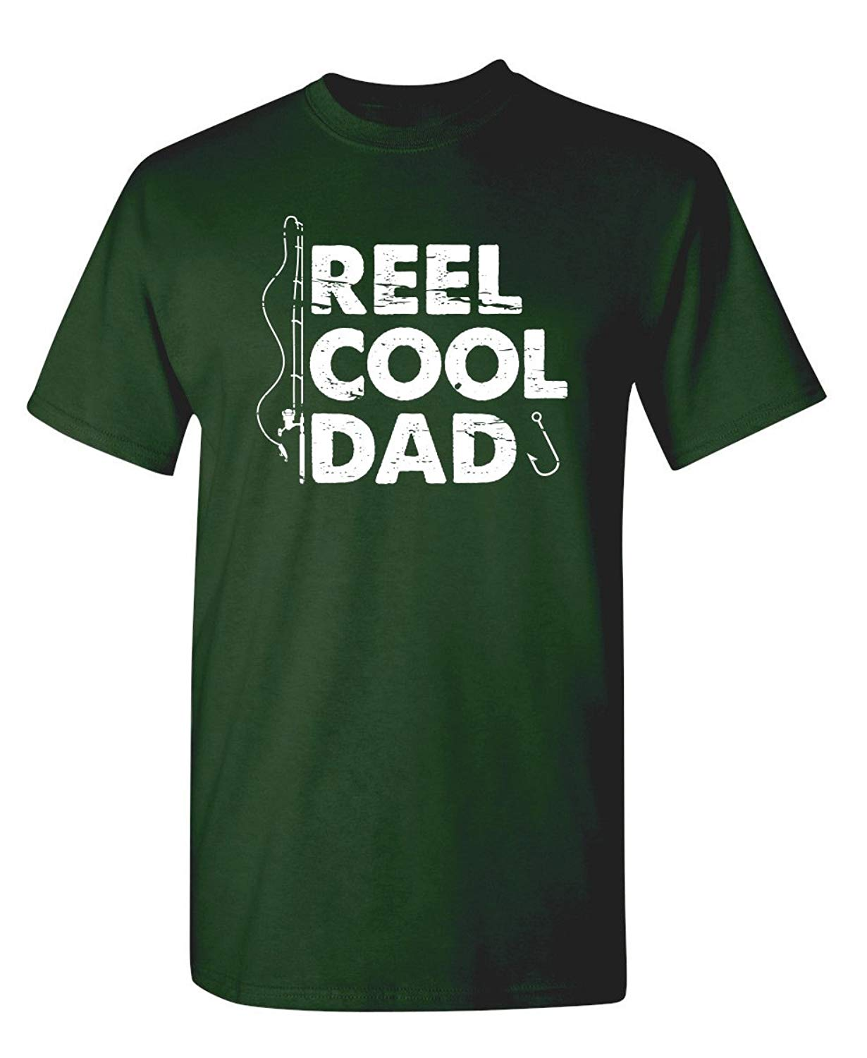 Reel Cool Dad Fathers Day Gift Idea For Dad Novelty Humor Funny T Shirt S Forest