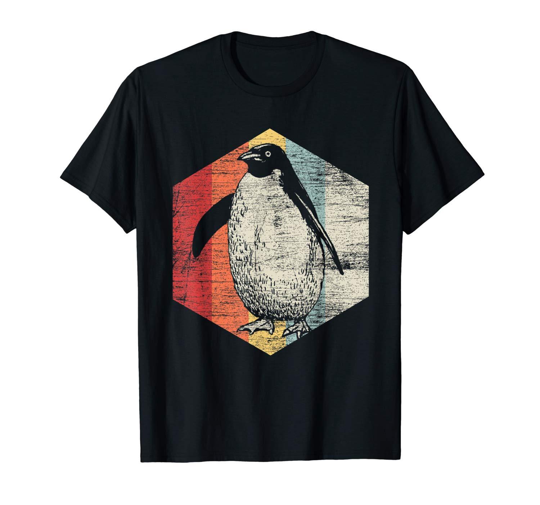 Retro Penguin T Shirt