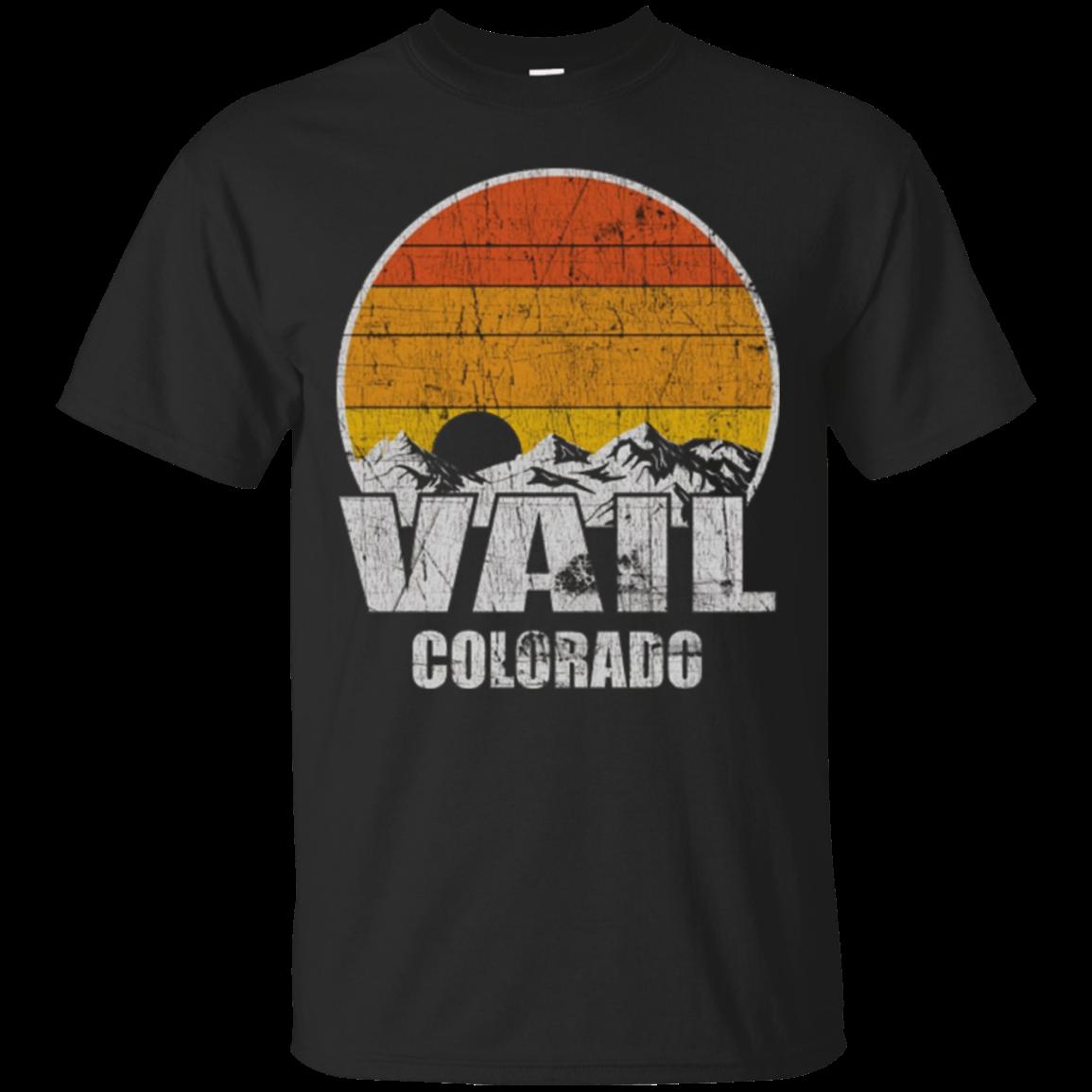 Retro Vail Colorado T Shirt
