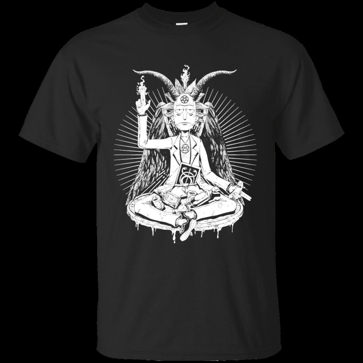 Rick And Morty Satan Funny T Shirt Sweater