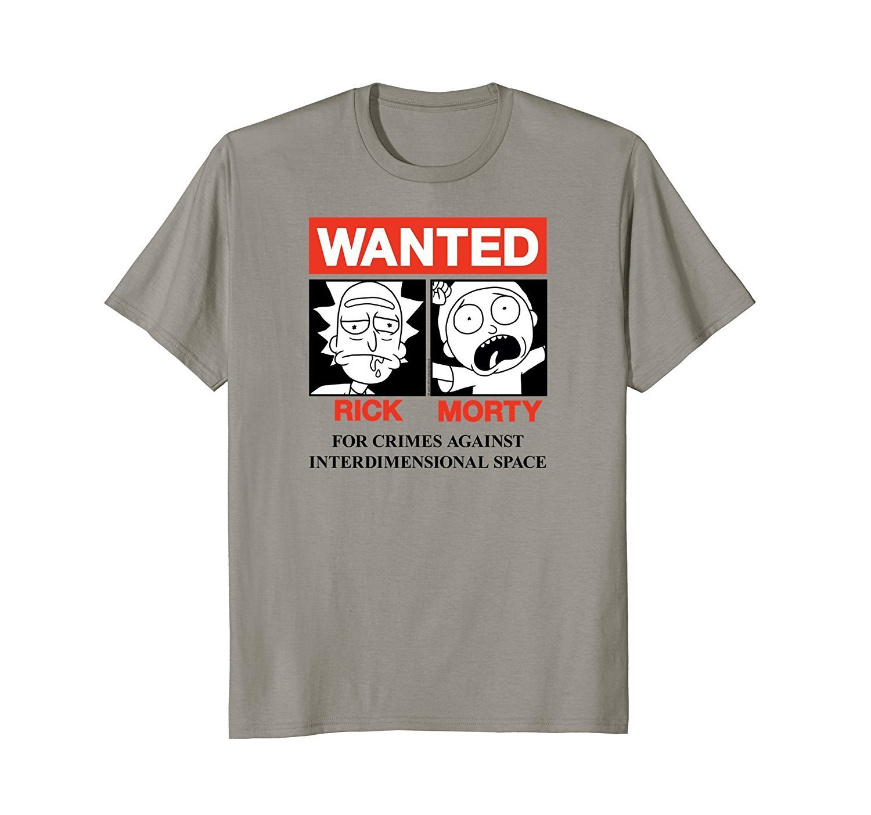 Rick Morty Wanted Shirts