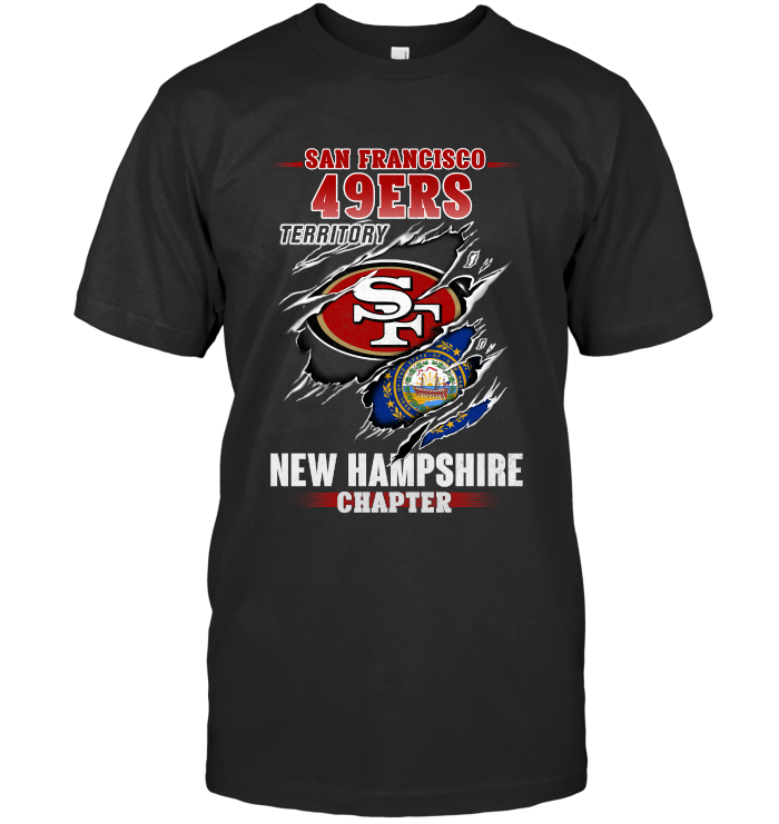 San Francisco 49ers Territory New Hampshire Chapter T Shirt