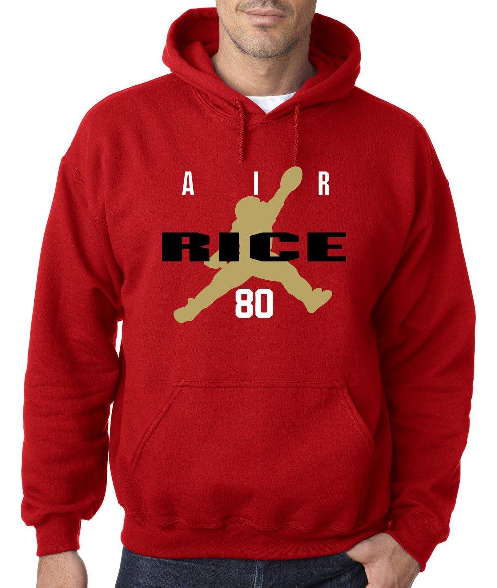 San Francisco Jerry Rice Air Hooded Shirts