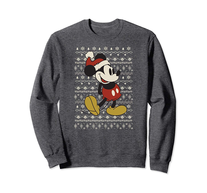 Santa Mouse Sweater Print Shirts