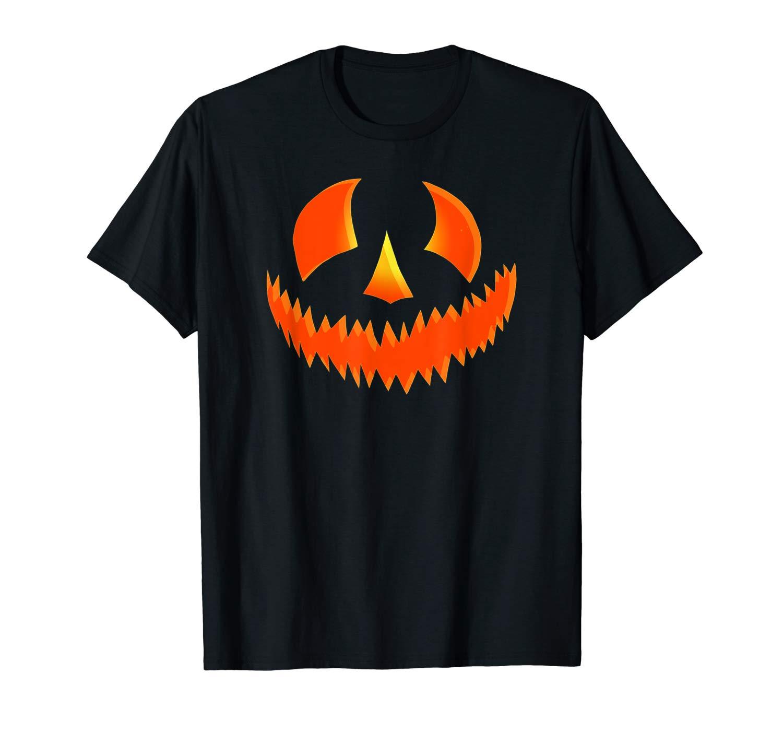 Scary Pumpkin Halloween Tshirt