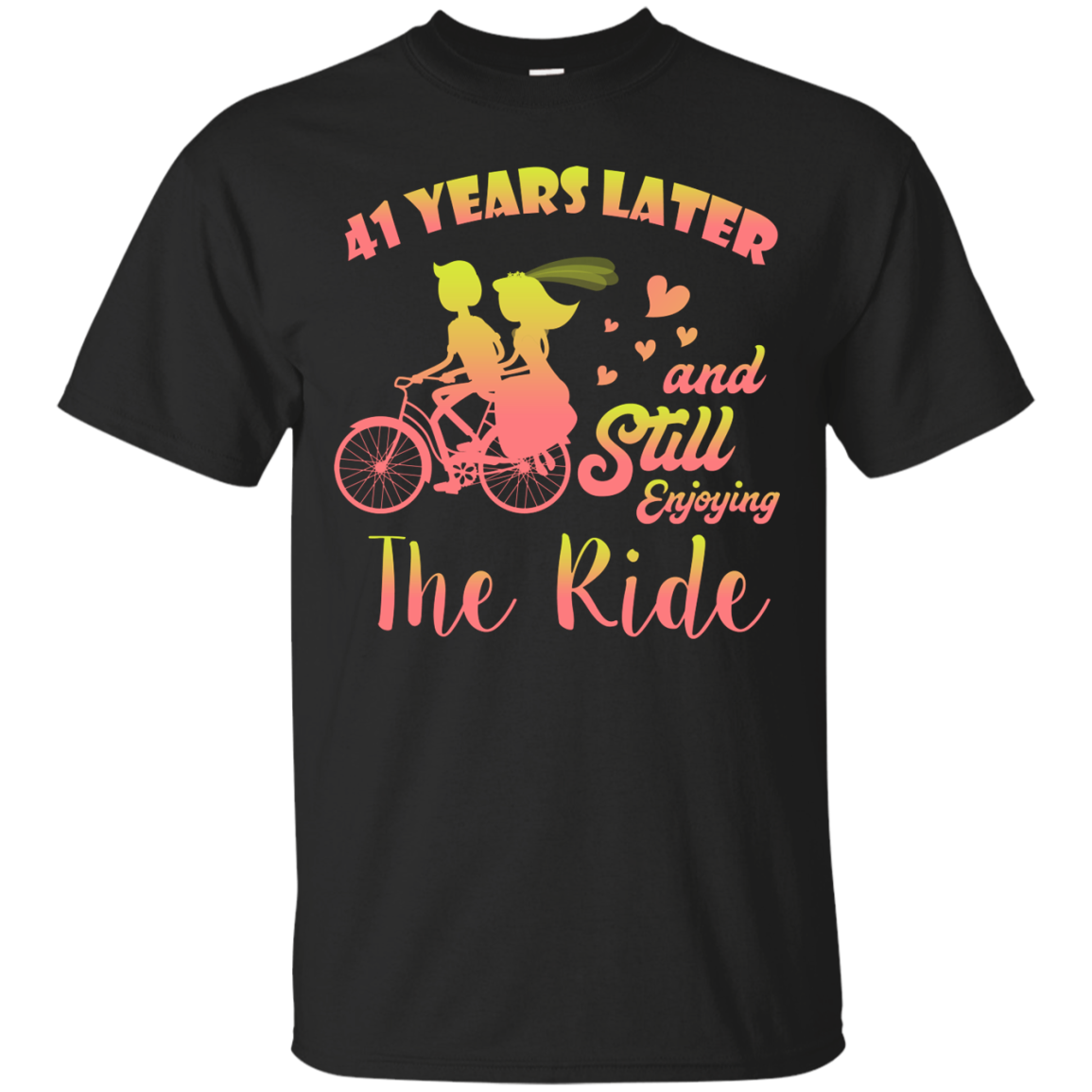 Shop From 1000 Unique 41 Years And Still Enjoying The Ride Cool Wedding Anniversary Shirt