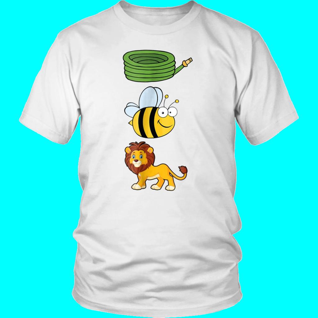 Shop From 1000 Unique Hose Bee Lion T Shirt