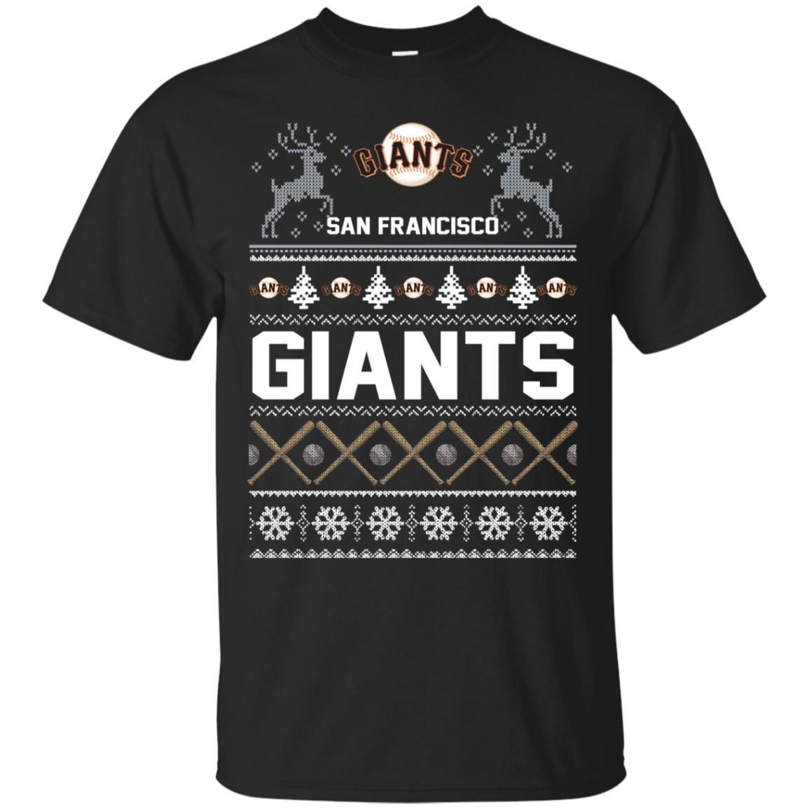 Shop From 1000 Unique San Francisco Giants Ugly Christmas T Shirt