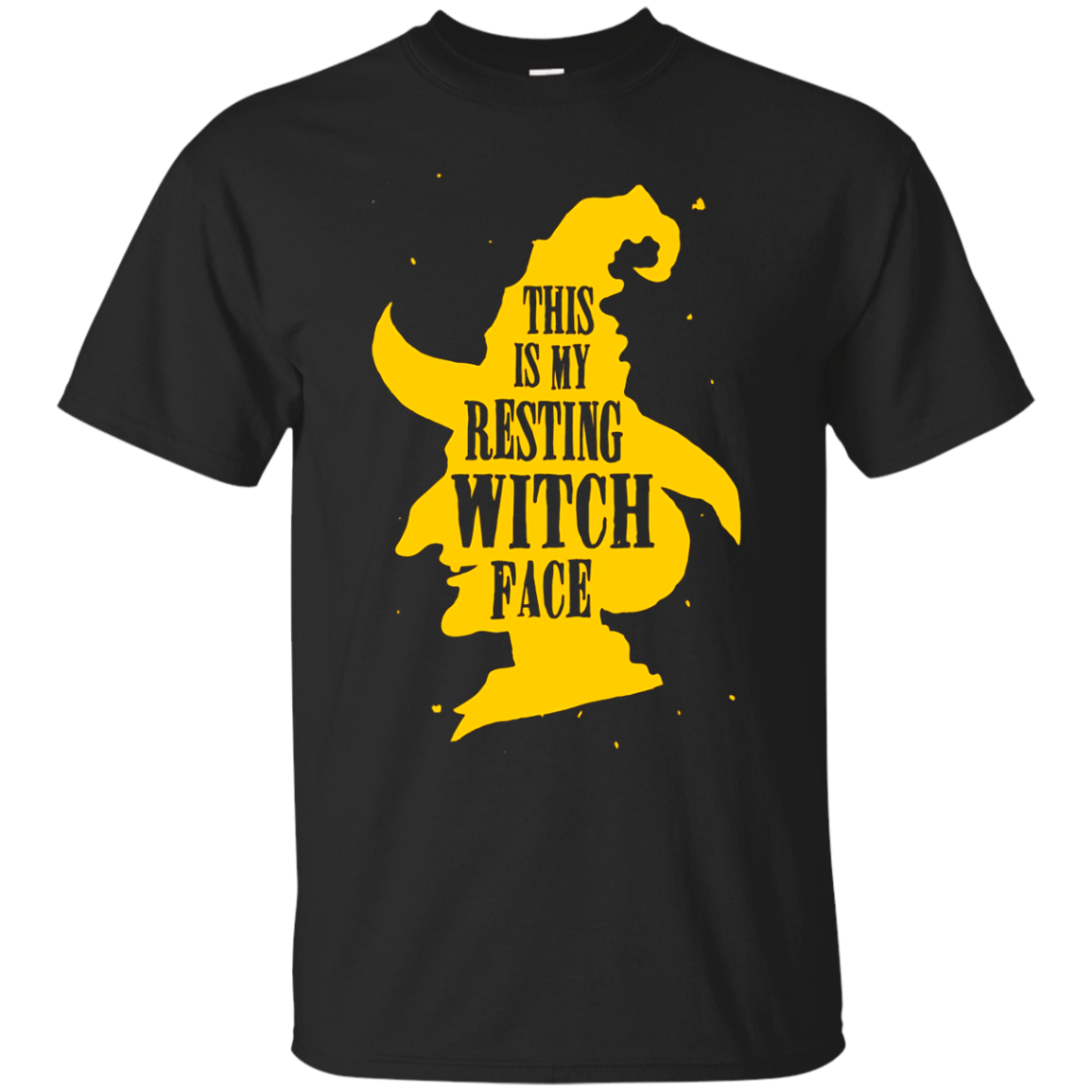 Shop Funny Halloween Witch Tshirt This Is My Resting Witch Face