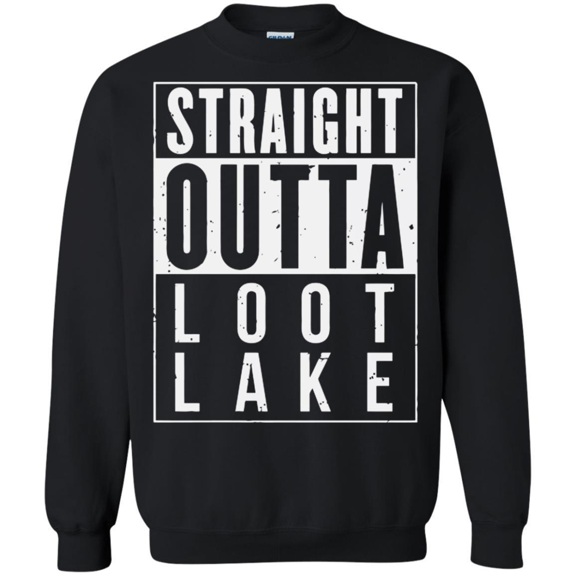 Shop Straight Outta Loot Lake Fortnite Battle Royale Shirts