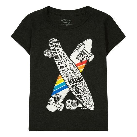Skateboard Dark Grey Shirts